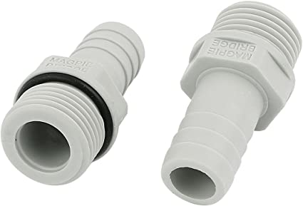 1//2 BSP male to 18mm Barbed Hose Tail Fitting Pressure Washer Jet Wash