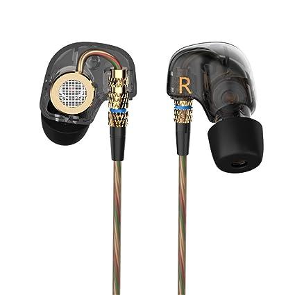 KZ ATE 3,5 mm en la oreja Auriculares HIFI metal auriculares auriculares Super Bass