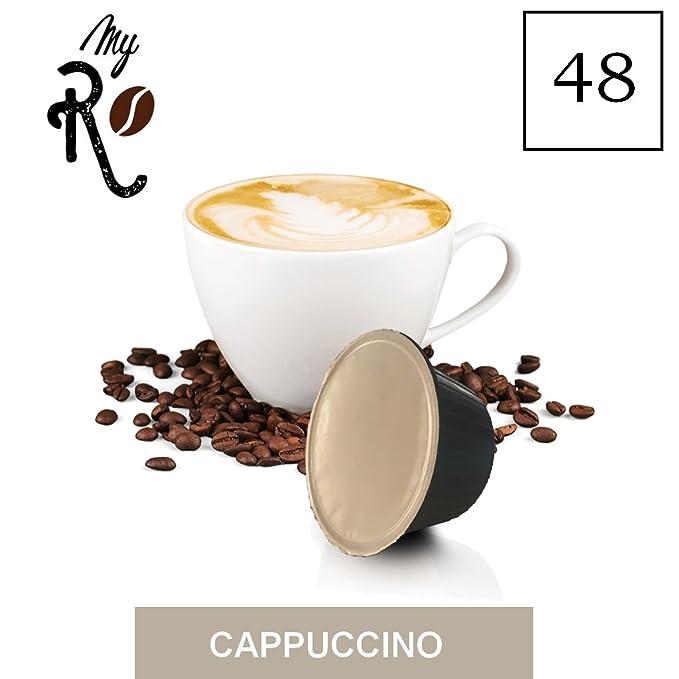 48 cápsulas de café compatibles Nescafé Dolce Gusto - Cappuccino - Cápsulas compatible con maquinas Nescafé