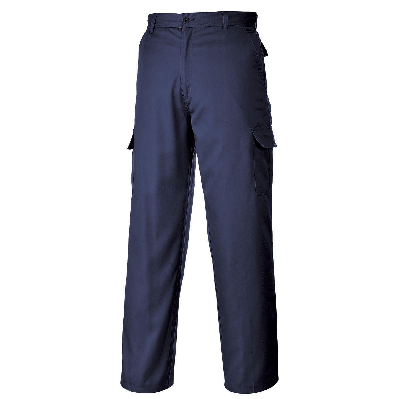 Portwest C701NAR30 Pantaloni Combat, Blu Navi, 30