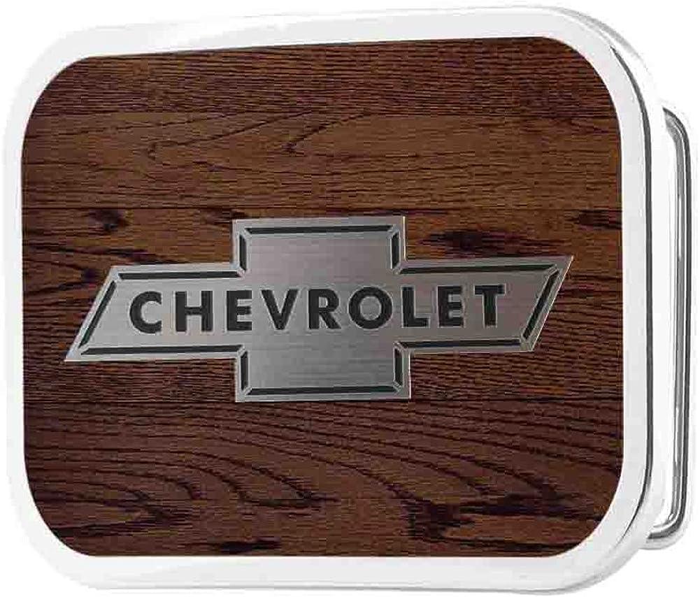 CHEVY BOWTIE LOGO BELT BUCKLE LICENSED NEW!