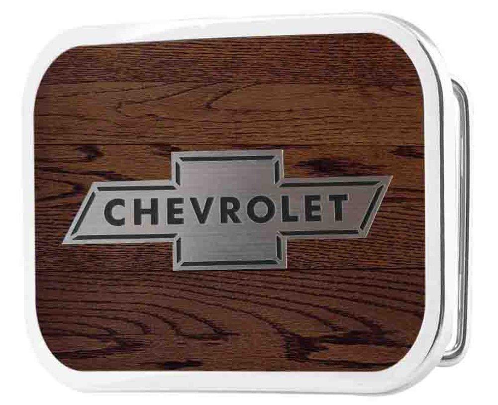 Chevrolet Automobile Company Classic Bowtie Logo Rockstar Belt Buckle Buckle Down