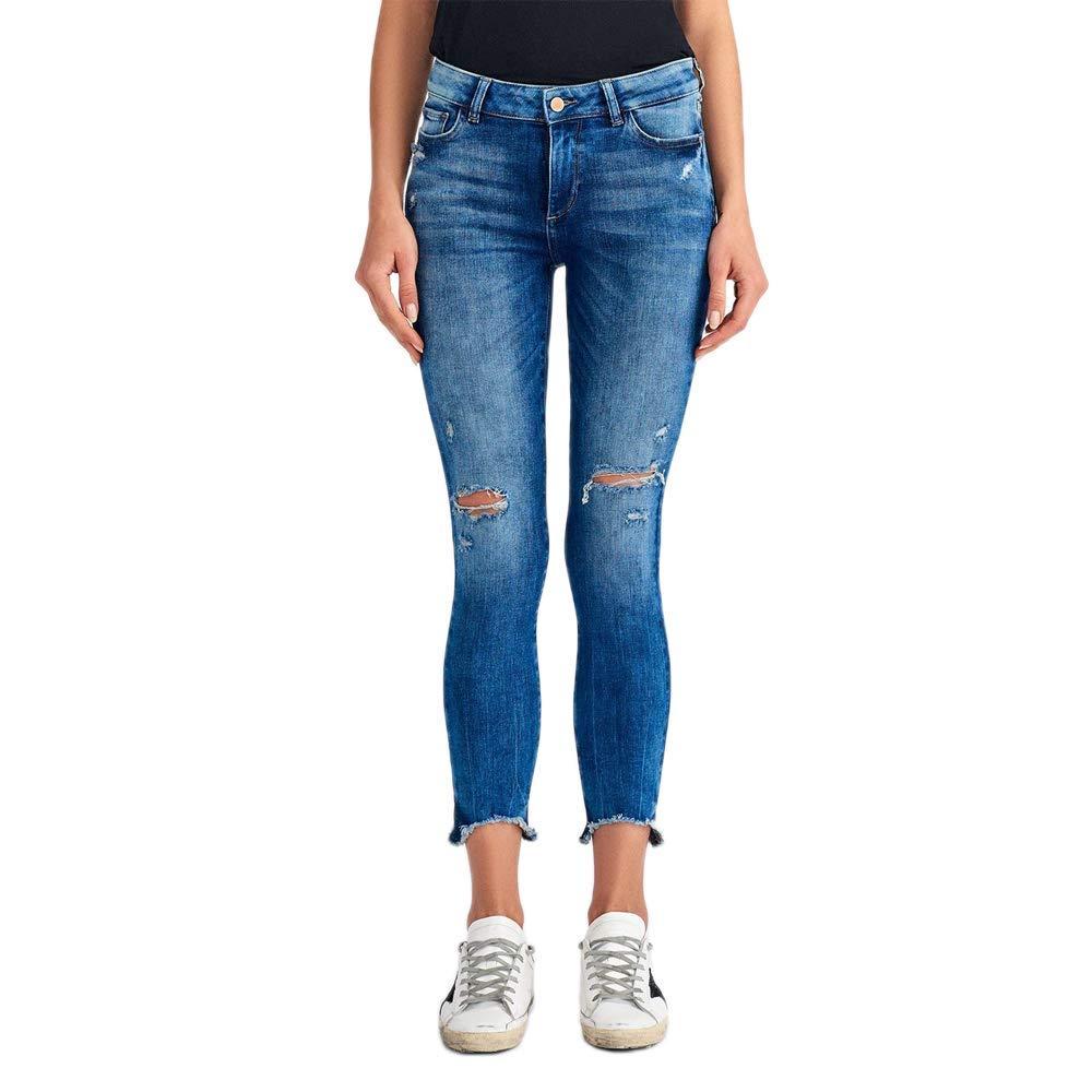 Amazoncom Dl1961 Emma Low Rise Skinny In Baxter Clothing