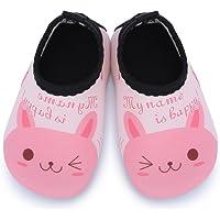 Tkiames Niños Zapatos de Agua descalzo Barefoot Respirable Calcetines de natación Aire Libre Piscina de Playa Surf Yoga…