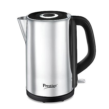 Prestige PWKSS Stainless Steel Electric Kettle (Silver, 1.8L)