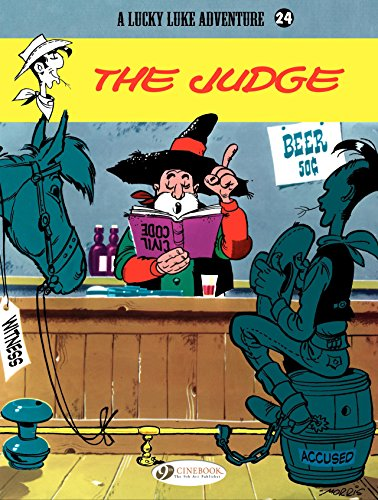 Amazon lucky luke volume 24 the judge ebook ren lucky luke volume 24 the judge by goscinny ren morris fandeluxe PDF