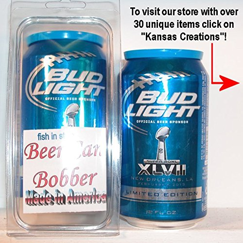 Beer Can Bobber - Fish in Style - Bud Light