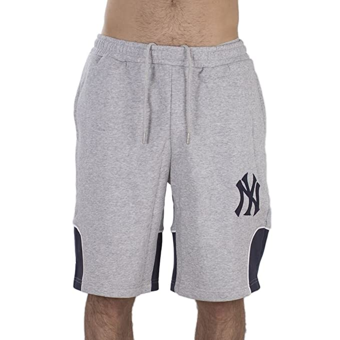 Majestic Pantaloncini New York Yankees Otabe Fleece Grigio M (Medium ... 7ac9a841a084