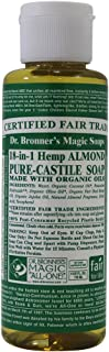product image for Dr Bronners Magic Soap All One Csal04 4 Oz Almond 18 In 1 Dr. Bronner'S Liquid Soap