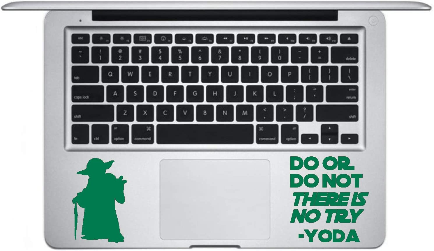 Star Wars Yoda Vinyl Decal 12 Colours 4 Sizes Wall Window Laptop Sticker