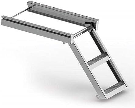 Escalera de mano escalera de mano escalera de construcción escalera de camión remolque (escalera de mano de 2 pasos): Amazon.es: Bricolaje y herramientas