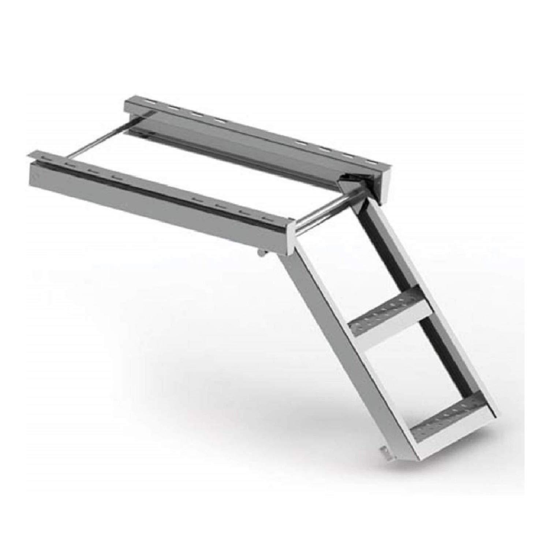 Escalera de mano escalera de mano escalera de construcci/ón escalera de cami/ón remolque escalera de mano de 2 pasos