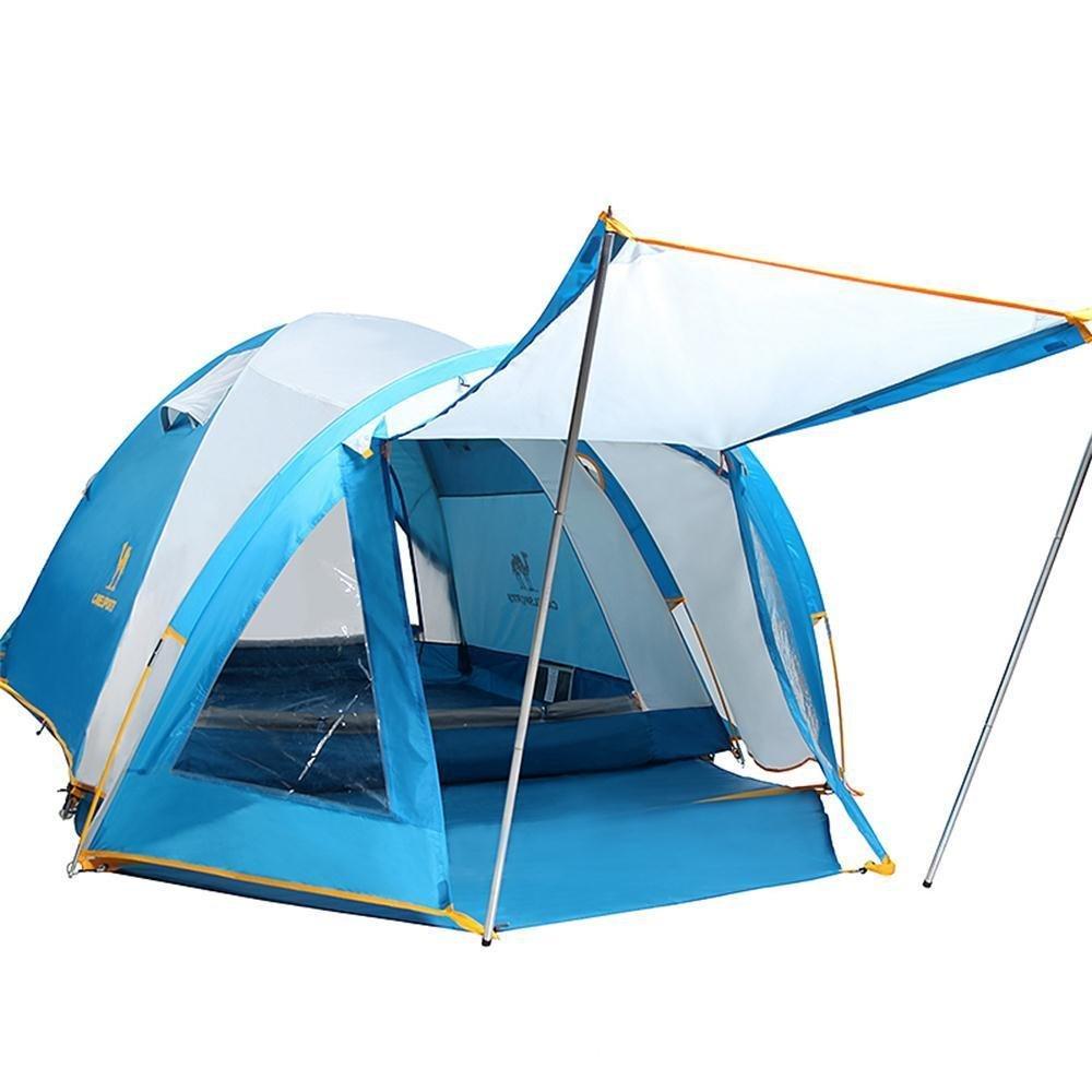 ALUK-3-4 Personen Doppel regen Outdoor-Zelt Outdoor-Zelt Camping