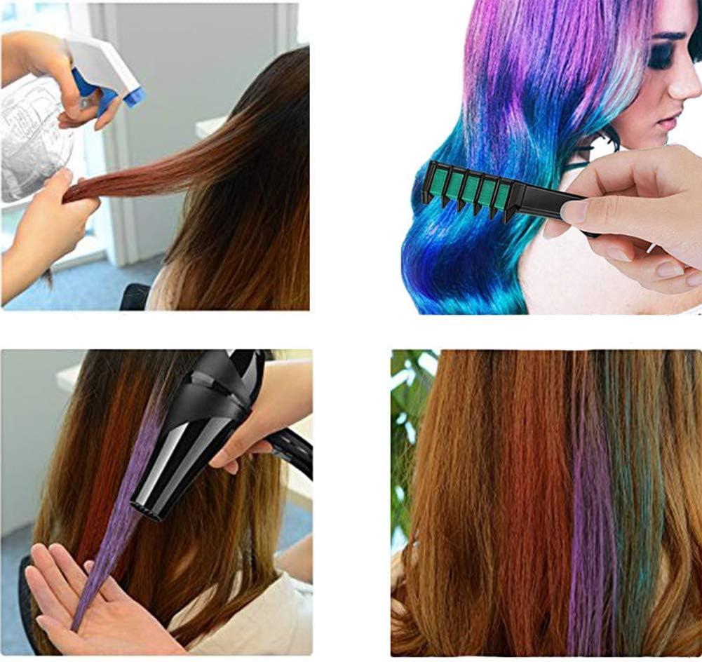 Tinte para el cabello en polvo peine de color temporal tinte ...