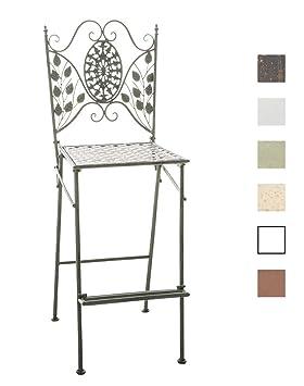 Pliable Jardin Forgé Hauteur Haute Un Design D'assise 71 Meuble Bar Clp En Fer Chaise Avec Terrasse Cm De Nostalgique Begona vmnwN0O8
