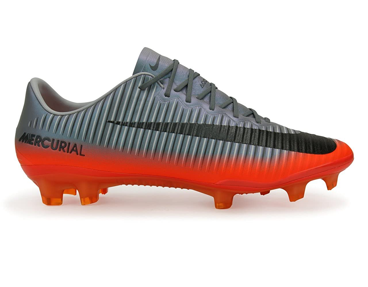 save off 5fe52 21a81 Amazon.com   Nike Men s Mercurial Vapor Xi Cr7 Fg Cool Grey Metalic  Hematite Wolf Grey Soccer Shoes   Soccer