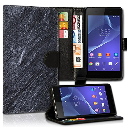 Wallet Book Style Flip Handy Tasche Case Schutz Hülle Schale Motiv Etui für Apple iPhone 4 / 4S - Design Flip MVD79