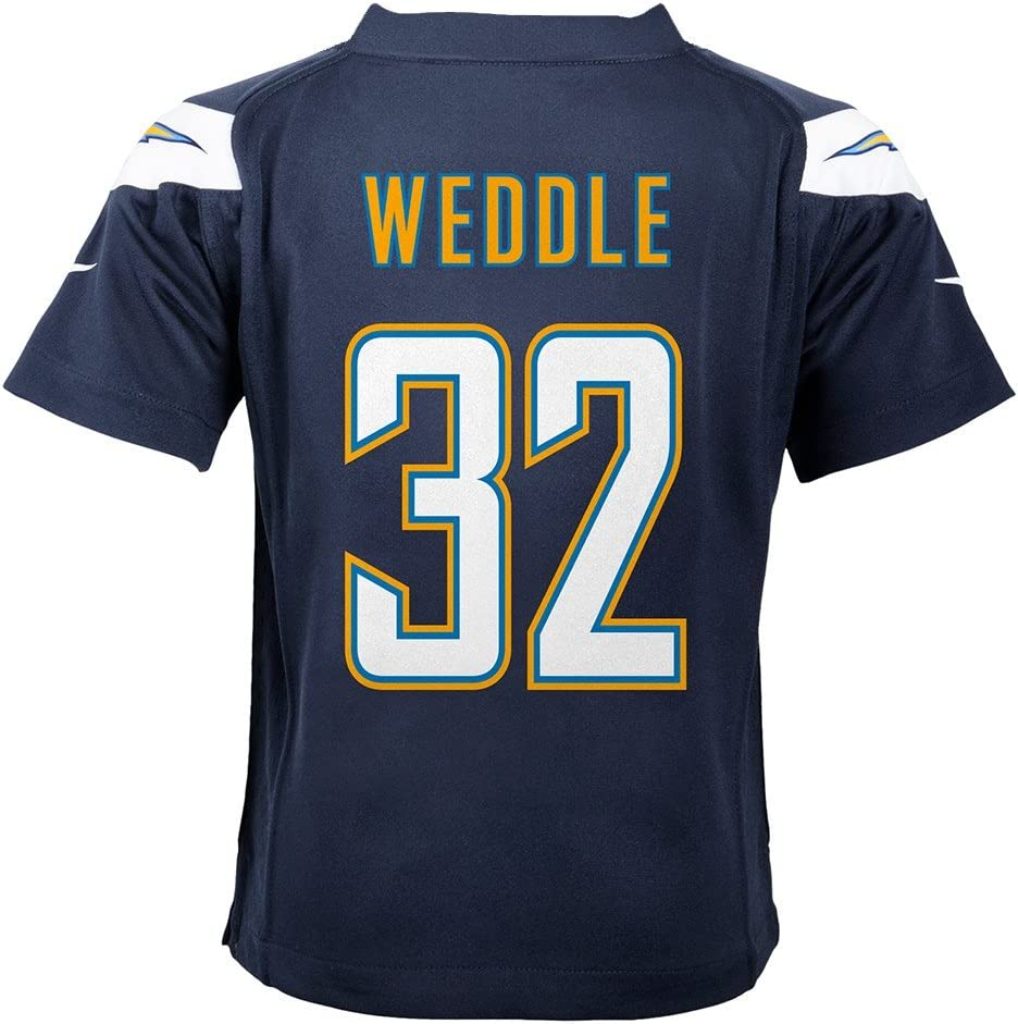 Amazon.com : Nike Eric Weddle San Diego Chargers Home Navy Blue ...