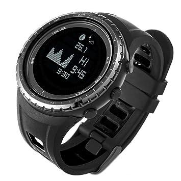 SUNROAD FR830 Reloj digital reloj de pesca Deportivo 5 ATM Cronómetro Multifuncional con Altímetro temperatura Cuenta regresiva: Amazon.es: Deportes y aire ...