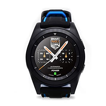 Amazon.com: KTYX Round Screen Smart Watch Android IOS Dual ...