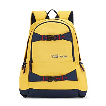 The Vertical 23 Ltrs Yellow Casual Backpack (SAGE)  Amazon.in  Bags ... bc0524ee95622