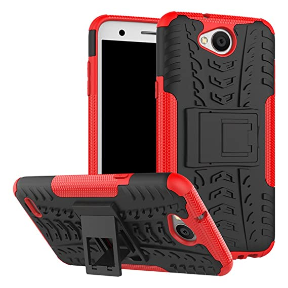 the latest 349f0 556ca LG X Charge Case,LG Fiesta LTE Case,LG M327 Case,Yiakeng Shock Absorbing  Dual Layer Protective Fit Armor Phone Cases Cover Shell for LG Fiesta LTE,X  ...