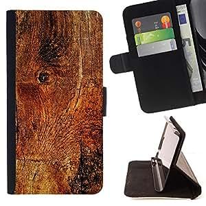 Jordan Colourful Shop - wood texture material structure brown nature For HTC Desire 820 - < Leather Case Absorci????n cubierta de la caja de alto impacto > -