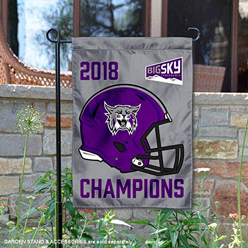 Weber State Wildcats 2018 Football Conference Champions Garden - State Football Weber