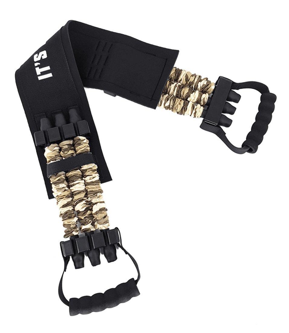 Ranbo Perfect Push UpバーStands、安定抵抗バンドPushup Aid練習機器、with滑り止め快適な発泡パッド入りグリップホームジム男性と女性の筋肉胸ワークアウト  198 lbs B07BTKDSDQ
