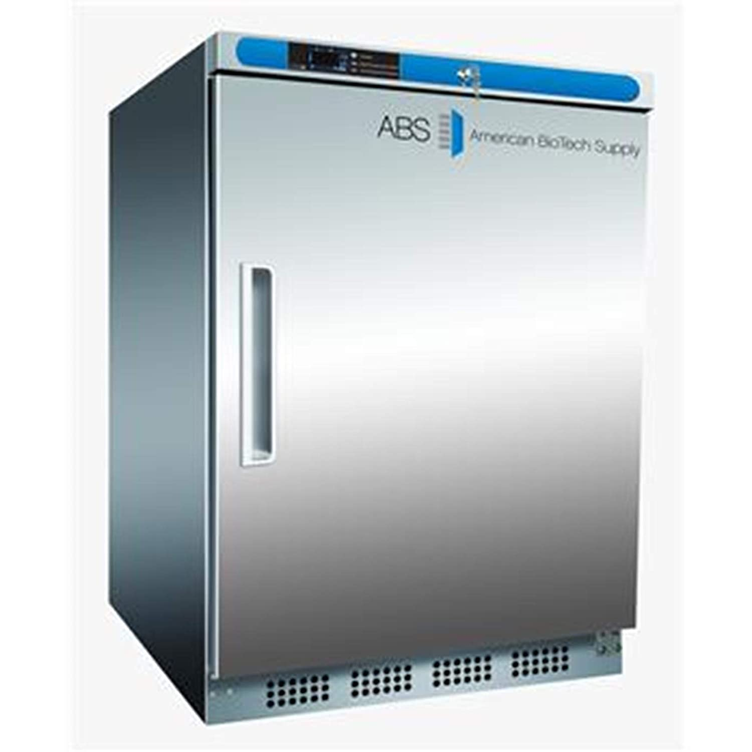 American BioTech Supply ABT-HC-UCBI-0420A-LH Premier Undercounter Freezer, AUTO DEFROST, Left Hinged, Built-In, 4.2 cu. ft. Capacity, White