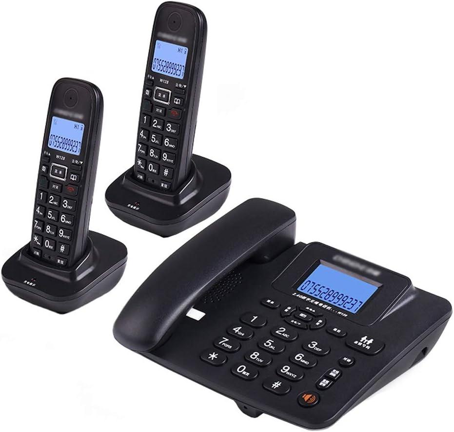 Uioy Teléfono, teléfono inalámbrico Digital, teléfono Fijo inalámbrico Inteligente Fijo (Color : Black, Style : 2): Amazon.es: Electrónica