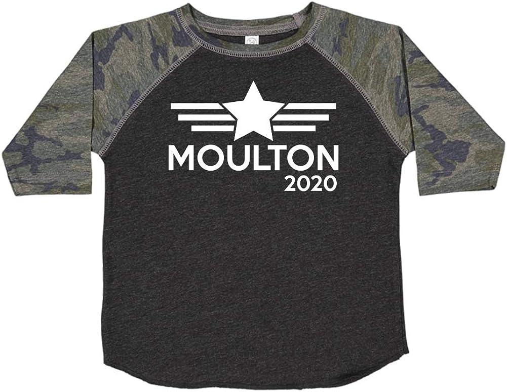 Mashed Clothing Moulton 2020 Presidential Election 2020 Toddler//Kids Raglan T-Shirt