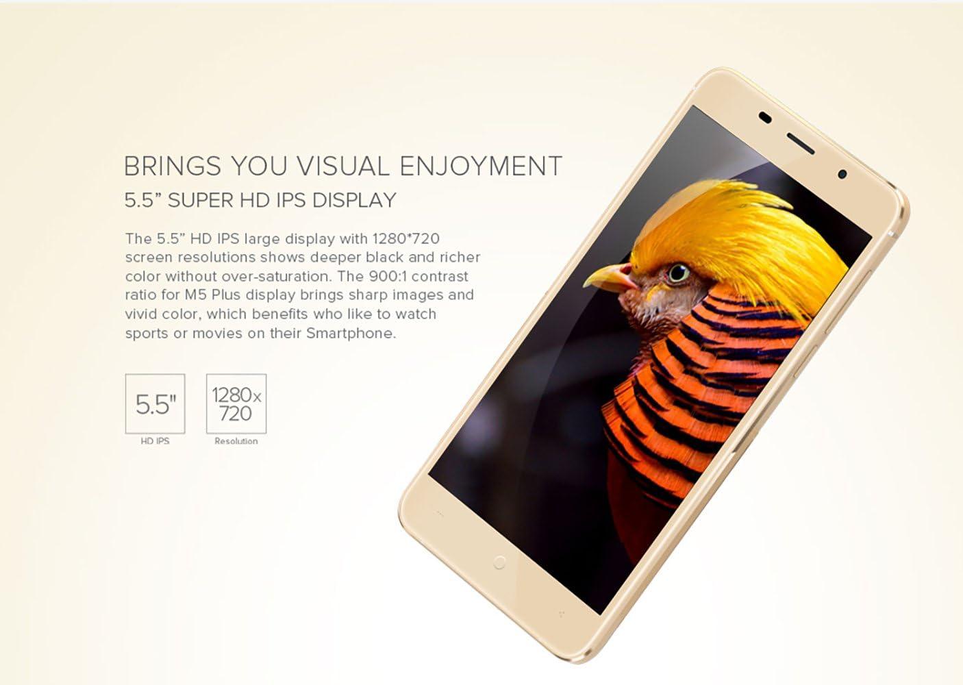 Leagoo M5 Plus 4G Smartphone, Desbloqueado 5,5