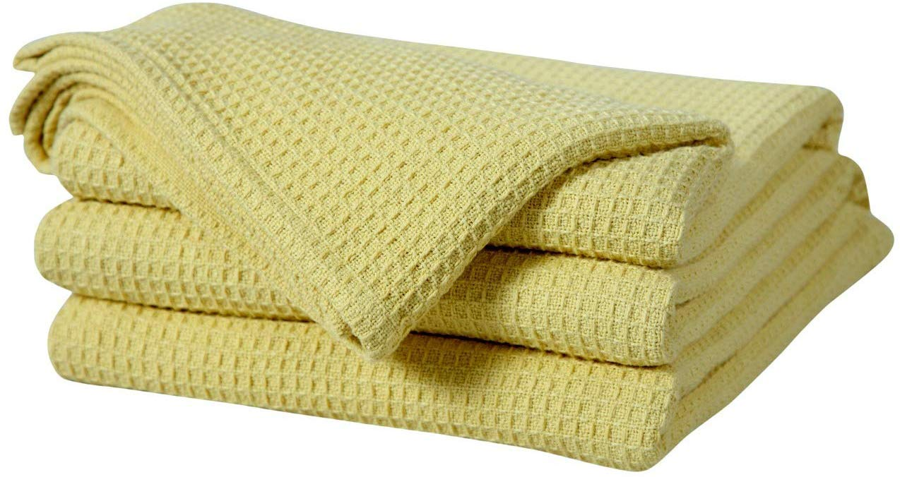 Soft Premium Right Weight Breathable Cotton Thermal Blankets Waffle Weave Design Beige Color Bed Bath /& Home BBH 100/% Cotton Blankets Twin Size Provides Comfort and Warmth for Years