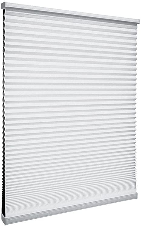 Amazon Com Shadow White 9 16 In Cordless Blackout Cellular Shade 29 In W X 48 In L Home Kitchen