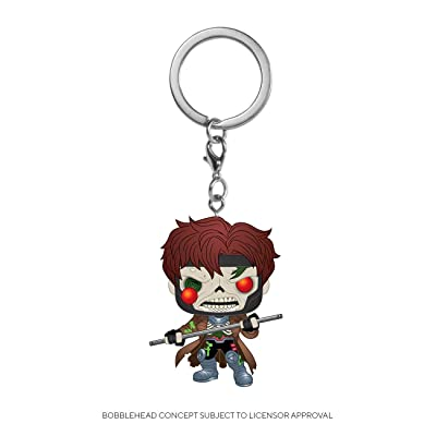 Funko 50275 POP Keychain: Marvel Zombies-Gambit Collectible Toy, Multicolour, 2 inches: Toys & Games