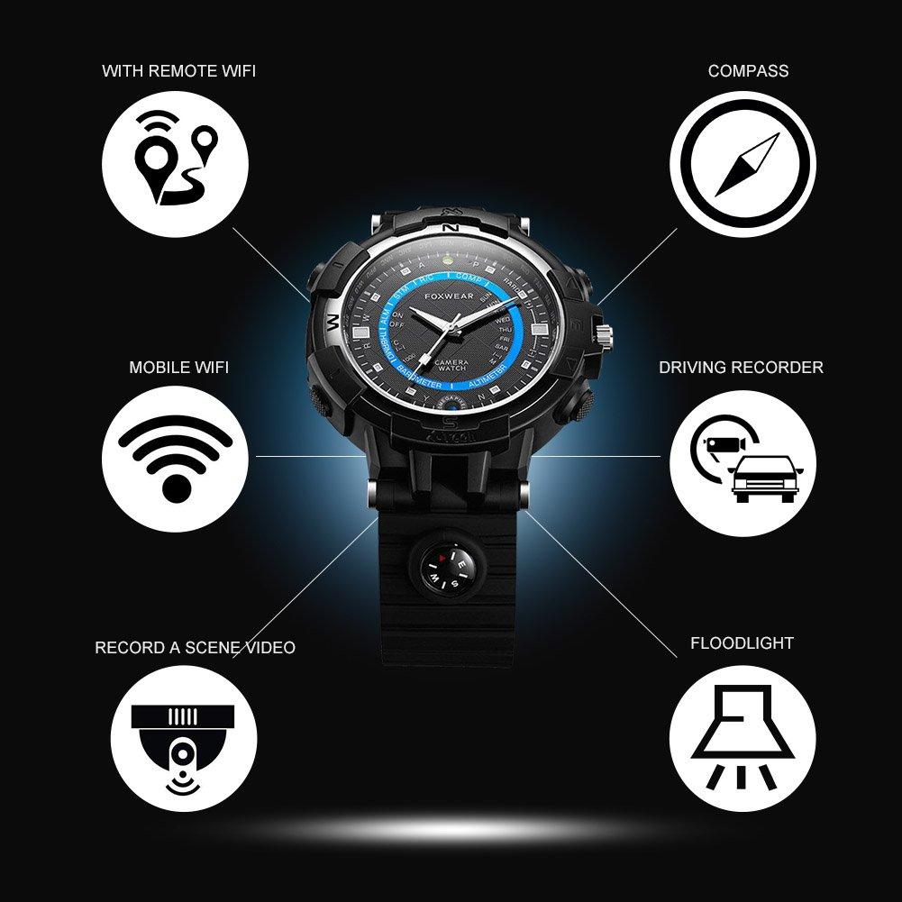 Amazon.com: Smart Watch, Karsiqi Wifi Wristwatch With Camera ...