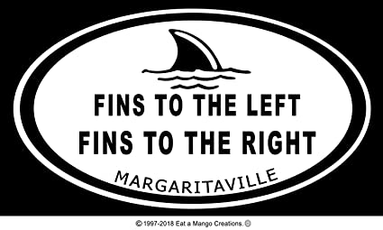 Amazon.com: Jimmy Buffett Decal Collection, Oval, Car, Boat ... on margaritaville shoes, margaritaville shark cart, margaritaville grill,