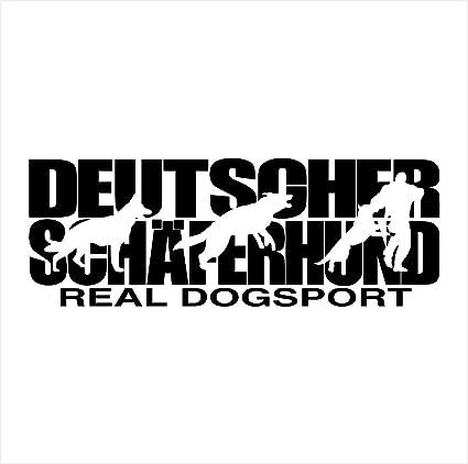 Siviwonder Auto Aufkleber Deutscher Schäferhund Hundesport