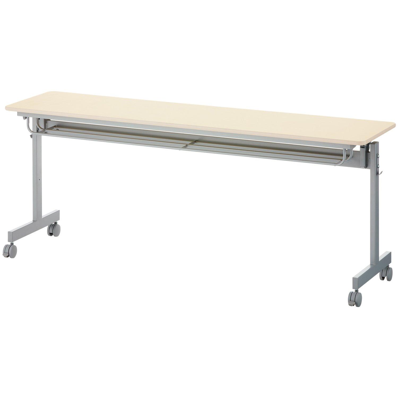アイリスチトセ 会議テーブル ミーティングテーブル 幅1200×奥行600×高さ700mm ホワイト MT-1260 B009UVFAAA ホワイト ホワイト