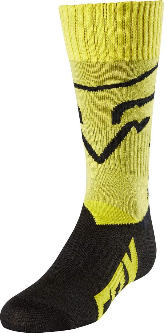 Mastar Youth MotoX Motorcycle Socks Yellow//Small Fox Racing Mx