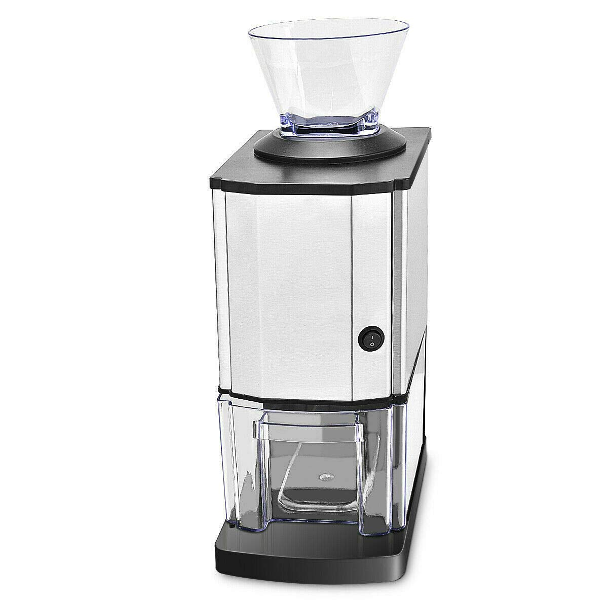 PNPGlobal Tabletop Electric Stainless Steel Ice Crusher Shaver Machine Crushed Ice Maker
