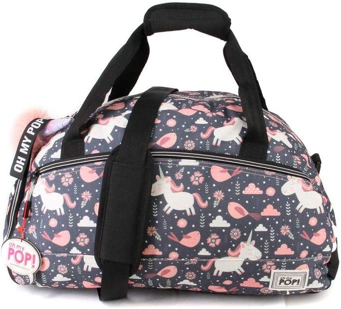 Fantasy-Uptown Sports Bag Sport Duffel 33.5 liters,Multicolour Oh My Pop Oh My Pop 51 cm