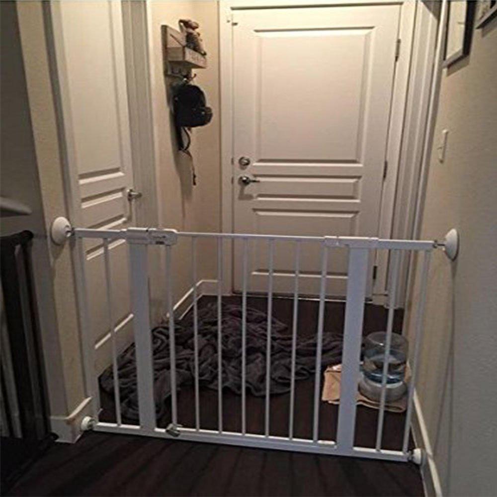 Beb/é Seguridad Pared Guardia Almohadillas,4 piezas Sin Perforaci/ón Almohadillas de Protecci/ón Protege la Superficie para Baby Gates,Escaleras de Madera,Puerta de la Escalera