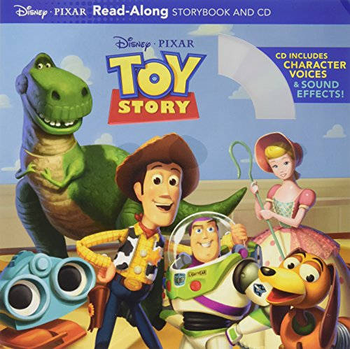 Toy Story Read-Along Storybook and CD (Voices Of Jake And The Neverland Pirates)