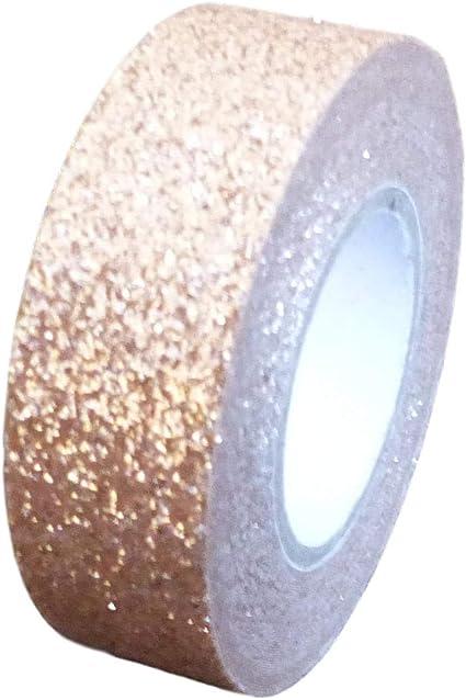 selbstklebende Sticky Glitzer Trim gold dekorativ Glitzer-Washi-Tape