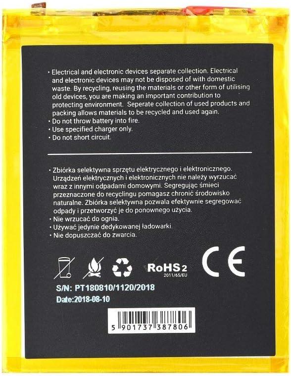 Blue Star Premium - Batería de Li-Ion litio 3000 mAh de Capacidad ...