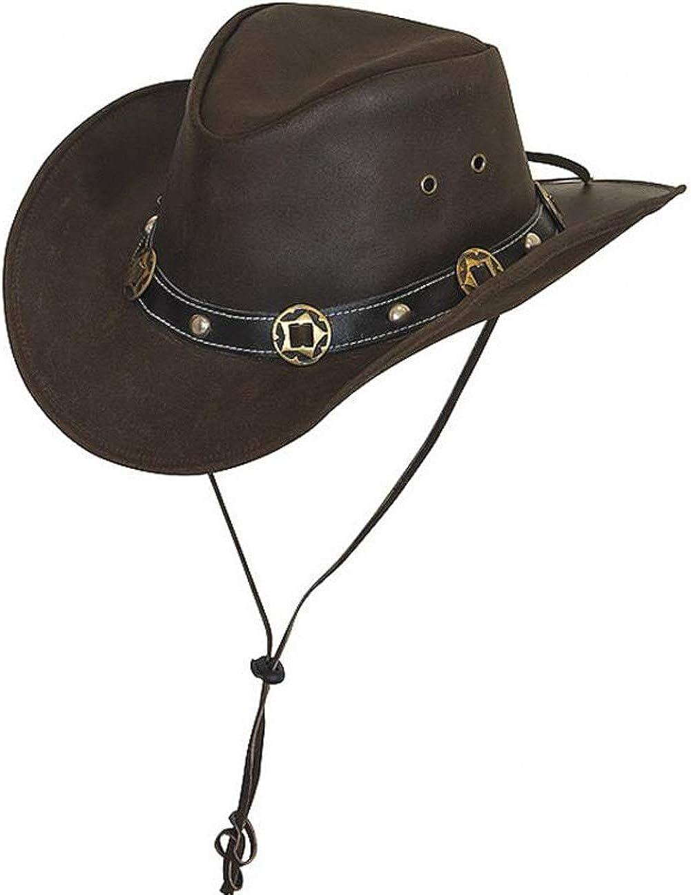 Sombrero de Piel Concho by Scippis sombrero de vaqueropiel natural sombrero de vaquero