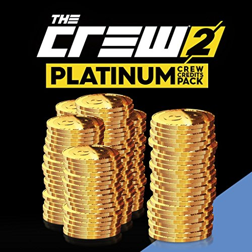 THE CREW 2:  PLATINUM CREDITS PACK (450000 + 225000 BONUS) - PS4 [Digital Code] by Ubisoft