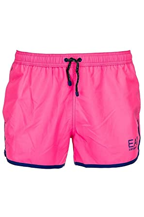 Emporio Armani EA7 maillot de bain short homme fuxia EU 48 (UK 32)  9020078P74002773 ca1bea35ed96